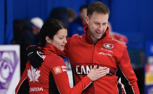 """""""One Of The Best Shots"""" at Curling's World Mixed Doubles"""