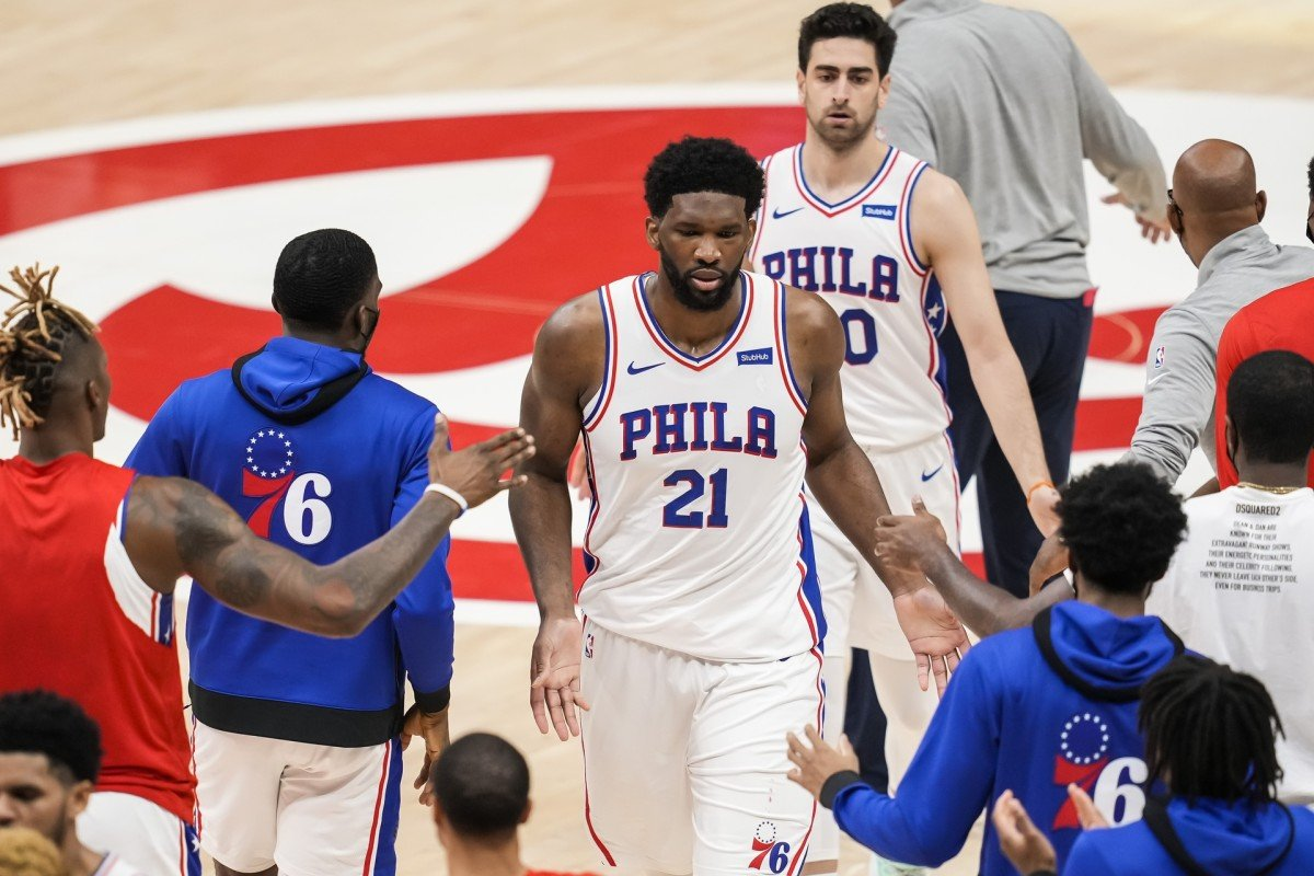 Embiid Adds Rolled Ankle to List of Setbacks He's Battling Through