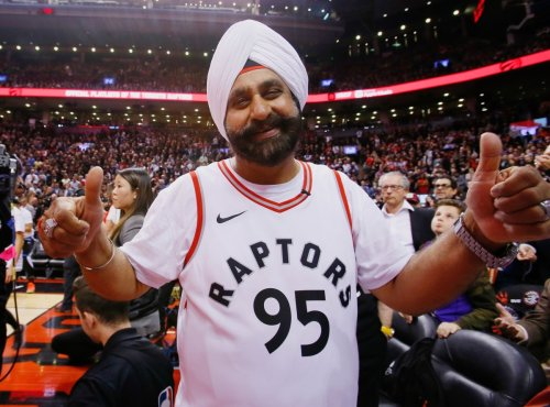 Raptors Superfan Becomes 1st Fan Inducted into the Basketball Hall of Fame