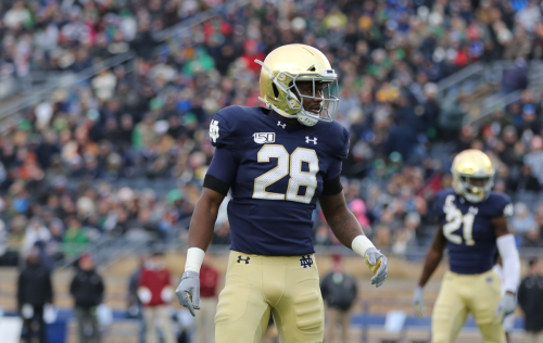 TaRiq Bracy And Consistency Being Used Together Is A Great Sign For Notre Dame