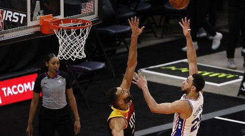 Ben Simmons on DPOY Race With Rudy Gobert: 'He's Not Guarding Everybody'