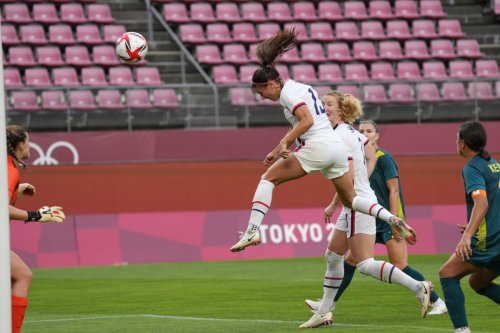 Cal at the Olympics: USA's Alex Morgan Says Soccer Tournament Starts Now