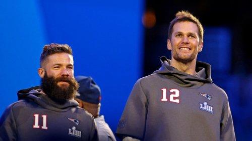 Tom Brady Congratulates Julian Edelman for 'Amazing Journey' With Patriots