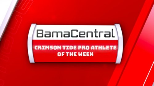 Eryk Anders is the BamaCentral Crimson Tide Pro Athlete of the Week