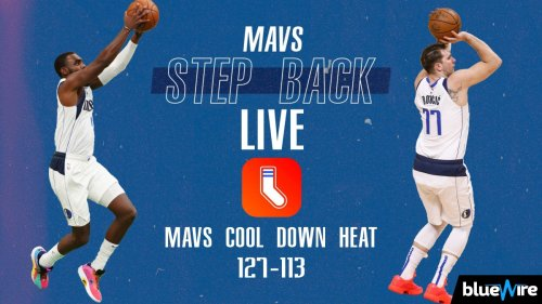 Mavs Step Back LIVE: Hardaway Jr., Doncic Cool Off Heat In Miami