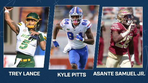 2021 NFL Mock Draft 2.0: 49ers Pick Trey Lance; Broncos and Patriots Get Quarterbacks