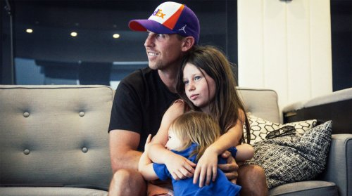 Denny Hamlin Embraces Being a Driver, a Team Owner and a Girl Dad