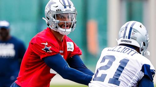 WATCH: Dak Prescott Goes Deep at Cowboys Camp