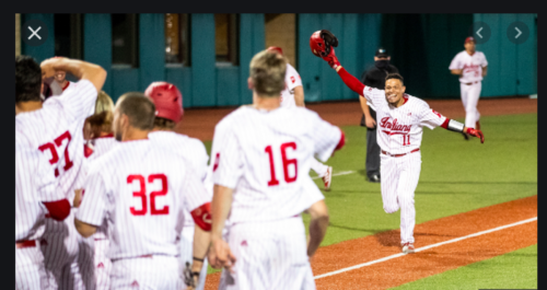 Indiana Baseball: For Catcher Collin Hopkins, It's Attitude That Makes a Difference