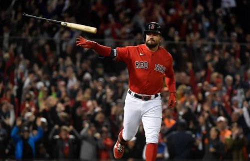 Red Sox Set MLB Record With Third Grand Slam vs. Astros in ALCS