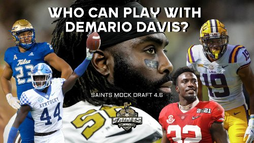 Saints Simulation Mock Draft Tuesday 4.6