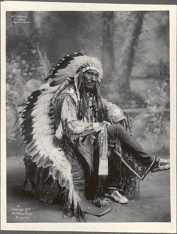 Little Wound, War Chief, Ogallala Sioux, 102 |