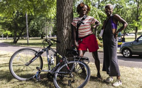 Biking While Black in Minneapolis
