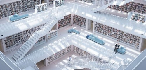 Beautiful libraries that will inspire you to read every day