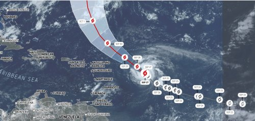 Hurricane Sam weakens, but life-threatening surf and rip currents possible as storm navigates the Atlantic