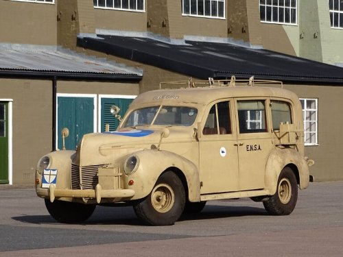 Sir Malcolm Campbell's 1939 Mercury Eight Overlander Is For Sale