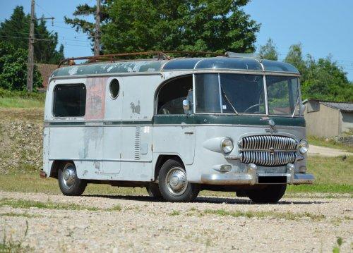 A Jet Age Citroën H Van By Barou: One Of A Kind Vintage Camper