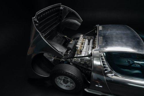 Warehouse Find: A Bare Metal Body Lamborghini Miura P400 S