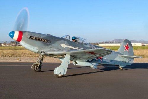 For Sale: A Soviet Yakovlev Yak-3 WWII Fighter Plane – $395,000 USD