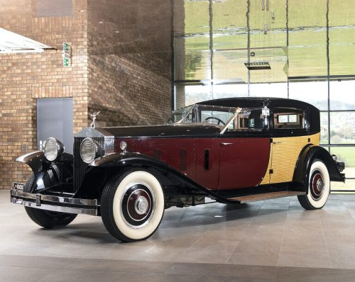 The Only One Ever Made: Rolls-Royce Phantom II Special Brougham By Brewster