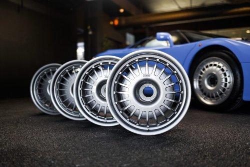An Original Set Of Bugatti EB110 Wheels – $9,400 to $14,200 USD