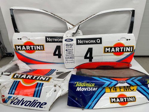 For Sale: Wrecked Body Panels From The Colin McRae 2001 Ford Focus RS WRC