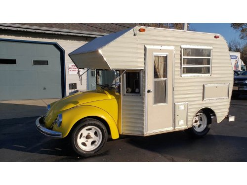 For Sale – An Original 1969 Volkswagen Super Bugger Beetle Camper
