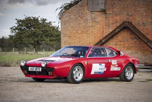 A Twin-Turbo Ferrari Dino 308 GT4 Road Legal Race Car