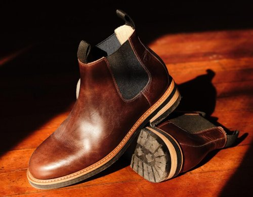 The Rhodes Cooper Boot – A Timeless Chelsea Boot With A Vibram Sole – $128.98 USD