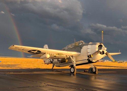 For Sale: An Airworthy Grumman Avenger – A WWII Torpedo Bomber