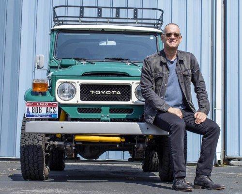 Tom Hanks Is Selling His FJ40 Land Cruiser: $75,000+ USD