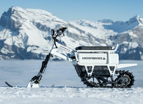 MoonBikes: The World's First Electric Snow Bikes
