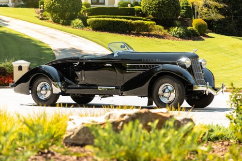 Is This America's Most Beautiful Car? The Auburn 851 Supercharged Boattail Speedster