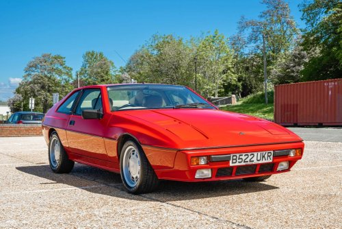An Affordable European Wedge: 1984 Lotus Excel