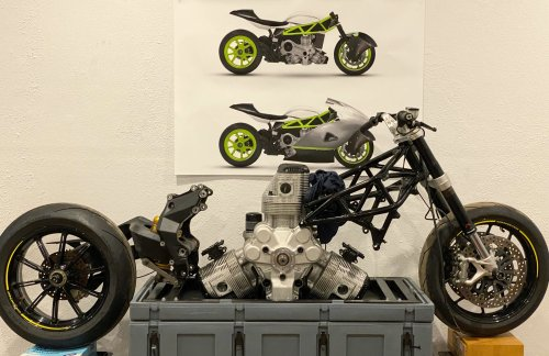 This Might Be The Fastest Radial-Engined Motorcycle In The World