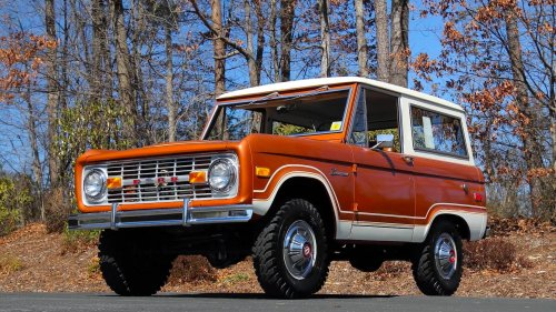 Unrestored Survivor: 1975 Ford Bronco With 3,150 Miles From New