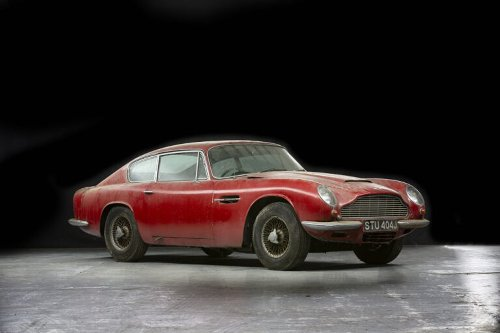Garage Find: Aston Martin DB6 Vantage Needing A Restoration