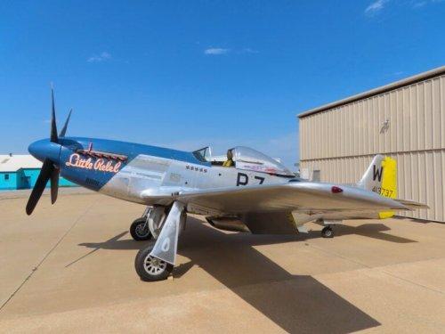 "1945 North American P-51D Mustang ""Little Rebel"" – $2,250,000 USD"