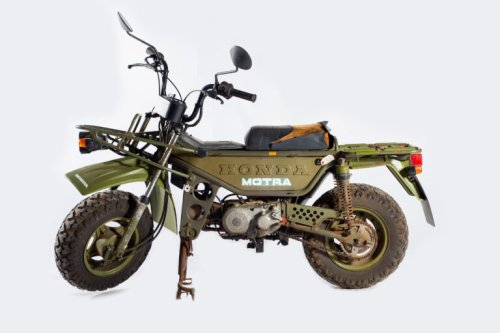 Honda CT50 Motra – A Rare Off-Road Scooter With High + Low Range