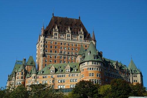 Hotel Fairmont Château Frontenac - ein Märchenschloss in Kanada