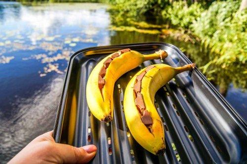 Bananen grillen – einfach und genial als BBQ Dessert