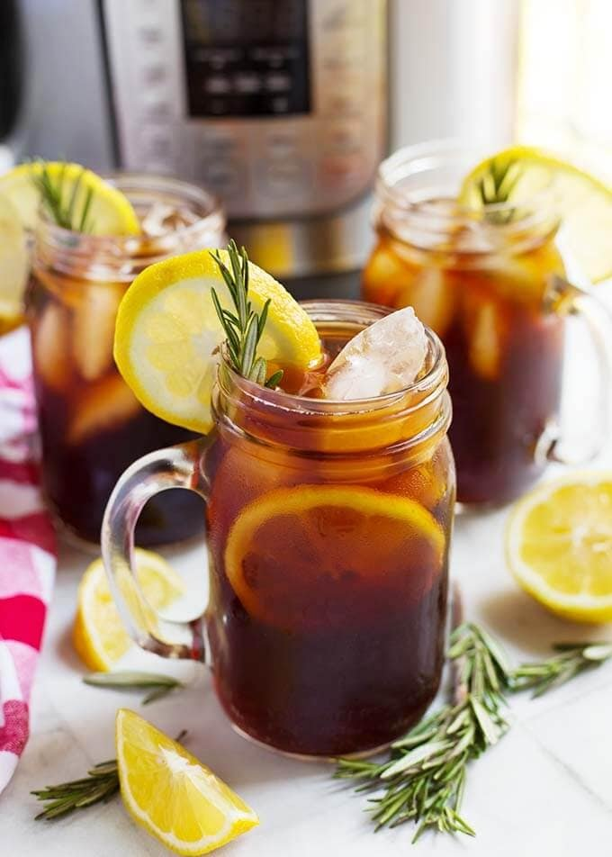 Instant Pot Iced Tea | Simply Happy Foodie