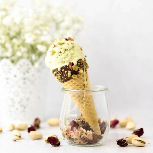 Matcha Rose Ice Cream   Simply Made Recipes