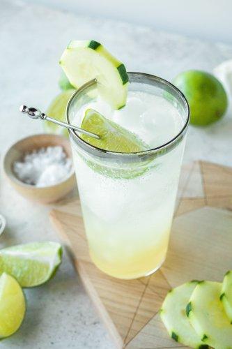 Nimbu Soda with Cucumber (Cucumber Salted Lime Soda)