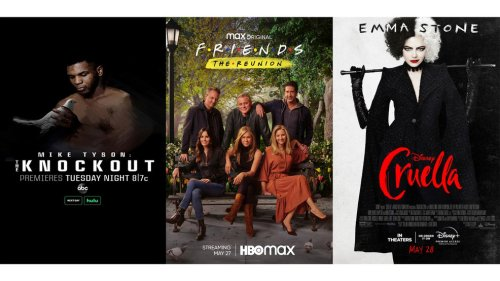 New this week: 'Friends' again, Mike Tyson documentary & 'Cruella'