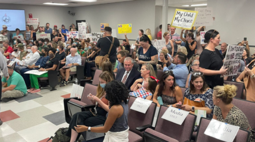 Group of Williamson County parents sue school board, claim mask mandates unconstitutional