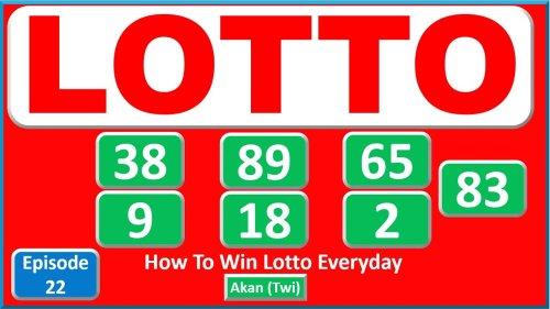 How to Win the Lotto - Sintrabodyboard.com