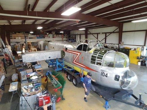 B.C. Aviation Museum makes progress on Lancaster FM104 - Skies Mag
