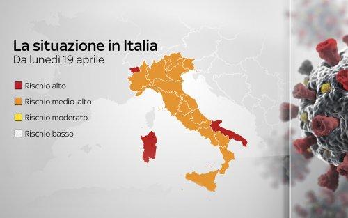 Covid, da oggi i nuovi cambi di colore: la Campania torna in arancione