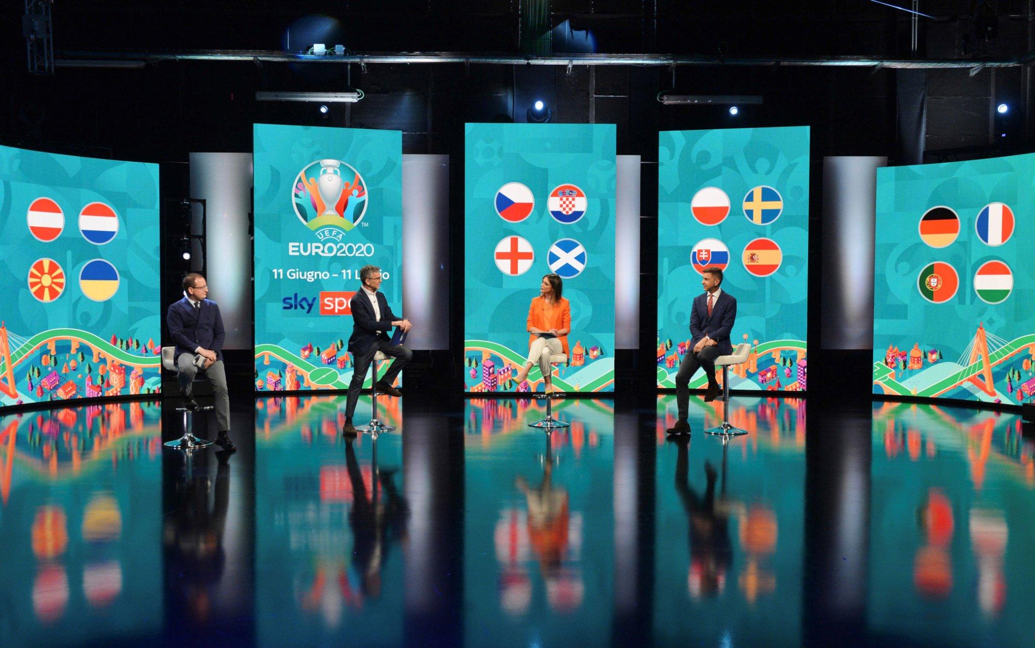 Euro 2020, la festa del calcio europeo è su Sky: la programmazione